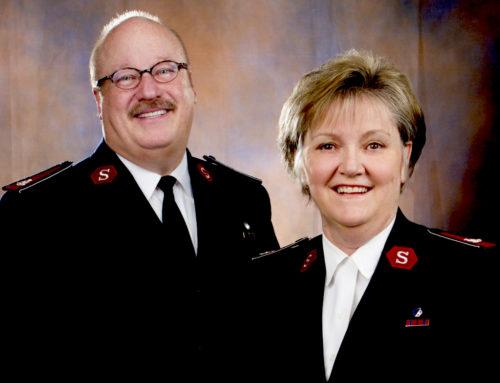 Lt. Colonels Eddie and Kathy Hobgood