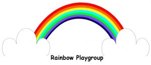 Rainbow playgroup logo